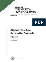 Algebraic topology  An intuitive approach (Sato)