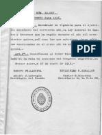 Ley de Presupuesto Gral. de La Rep. Arg. Del Ejercicio de 1915