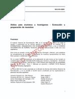NCH 164 of.2009 - Aridos Para Morteros y Hormigones - Extracción y Preparación de Muestras