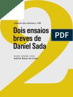 cad106-daniel_sada-dois_ensaios_breves