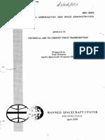 Apollo 16 Technical Air to Ground Voice Transcription