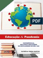 Livro Pandemia e Educacao