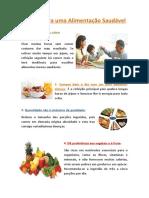 15 Regras Para Uma Alimentação Saudável