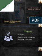 INTRODUCCIÓN AL TAMAÑO DE MUESTRA Y SELECCIÓN DE ELEMENTOS-