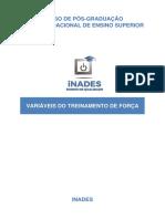 Variáveis Do Treinamento de Força - Fernando Maradona