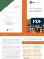 Diplomado en Historia Del UCSP