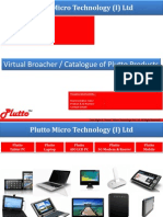 PLUTTO Product Catalogue