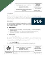 PROCEDIMIENTO DE RESIDUOS SOLIDOS Y LIQUIDOS-L