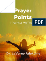 Health Prayer Points