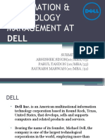 INFORMATION & TECHNOLOGY MANAGEMENT AT DELL