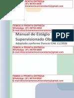Manual de Estágio Supervisionado Obrigatório - Enfermagem