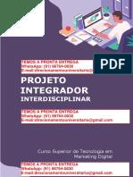 Pequenos Negócios e Marketing Digital o Caso Café e Sintonia PROJETO INTEGRADOR INTERDISCIPLINAR - Marketing Digital 3º e 4º Semestre