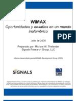 WiMAX Oportunidades y desafíos en el mundo inalámbrico