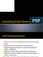 Cascading Style Sheets(final)