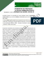 Uso de EPI - Documento em Diagramação