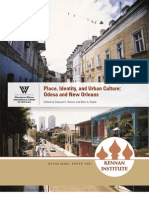 Place, Identity, And Urban Culture - Odesa and New Orleans _ Samuel c. Ramer