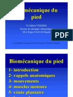 Biomecanique du pied