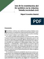 Estado y sociedad civil, una revisión del pensamiento contractualista - Autor