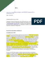 COMPARAÇÃO LULA X FHC