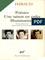 Arthur Rimbaud - Une saison en enfer
