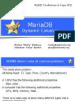 Dynamic Columns