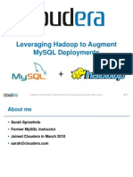 Leveraging Hadoop to Augment MySQL Deployments