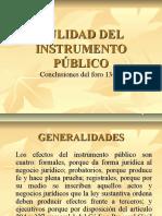 Nulidad Del Instrumento Pc3bablico Conclusiones Foro 13 14