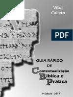 Guia Rápido de Contextualização Bíblica e Prática