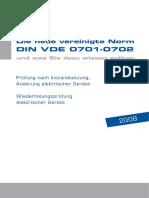 din_vde_handbuch_Mebedo-Elektrikli Ekipman Testleri Birleşik Norm