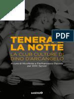 Pierfrancesco Pacoda, NicoNote – Tenera è la notte (2020)