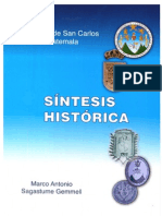 Sintesis Historica USAC
