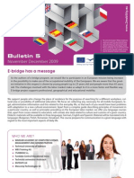 E-Bridge 2 Mobility Bulletin 5