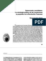 Democracia, estrategia política y la Revolución francesa - Autor
