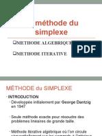 La Méthode Du Simplexe-1