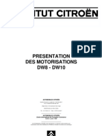 PRESENTATION MOTEURS DW8 et DW10