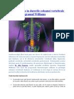 Kinetoterapia in durerile coloanei vertebrale lombare