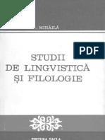 Studii de lingvistică şi filologie