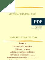 Materiales  Metalalicos