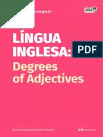Língua Inglesa_Degrees of Adjectives