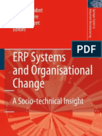 23540817 ERP Systems and Organisational Change a Socio Technical Insight 1848001827