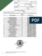 Lista Electoral UPyD Plasencia2011