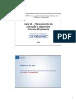 Aula13_PCC3231_Planejamento2_Orçamento_2019