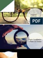 1. ICR - Pacto Acadêmico e Plano de Ensino