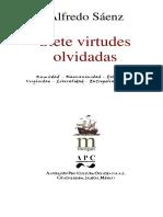 Siete Virtudes Olvidadas-Alfredo Saiz