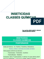 Inseticidas - Classes Químicas