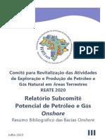 Relatório Subcomitê III – Resumo Bibliográfico das Bacias Onshore