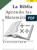 en la biblia aprendo matematicas