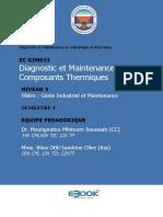 EC GIM633 - Diagnostic et Maintenance des Composants Thermiques corrigé