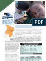 Informe Resultados Caravana Refugiados 2010