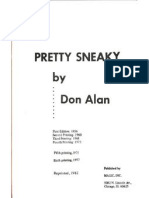 Alan, Don - Pretty Sneaky
